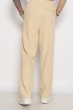Брюки из натурального хлопка 637F001 черный
