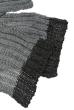 Комплект детский (для мальчика) шапка и шарф в темном оттенке 65PB13-001 junior графит-серый