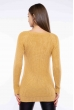 Свитер женский удлиненный  610F005 бледно-желтый