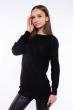 Свитер женский удлиненный  610F005 черный