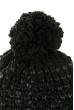 Комплект (двойка) с помпоном женский 65P1408 черный