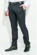 Брюки мужские классическая модель 1122-8 темно-синий