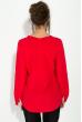 Блузка женская, на змейке  81P0042 красный