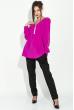 Блузка женская, на змейке  81P0042 фиолетовый