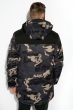 Куртка 120PCHB9801 серо-черный