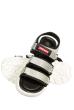 Босоножки женские 11P704 бело-серый