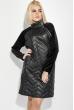 Платье женское зимнее, с боковой молнией 74PD380 черный