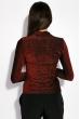 Гольф женский с люрексом 19PL161-1 красный