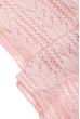 Комплект женский шапка, шарф и митенки тонкий 65PF3021 розовый