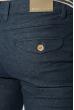 Шорты мужские темные, классика 571KY003-6 темно-синий