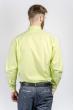 Рубашка мужская салатовая Fra №870-3 салатовый