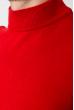 Свитер мужской однотонный 50PD600 красный