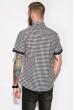 Рубашка 120P289 бело-черный