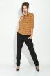 Блузка женская, шифоновая 81P0112 оранж-беж