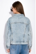 Джинсовая куртка 120PSKL10217 светло-голубой