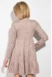 Платье женское с свободной юбкой 79PD5535 пудра