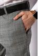 Брюки классические 120PNR435 серый