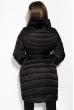 Пальто женское с митенками 120PSKL2101 черный
