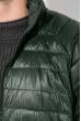 Куртка мужская на змейке 191V002 зеленый
