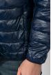 Куртка мужская на змейке 191V002 темно-синий