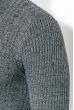 Гольф мужской вязаный 347V001 грифельно-серый