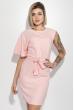 Платье женское на одно плечо, приталенное 72P104 пудровый