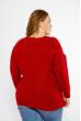 Свитер женский oversize 120PRZGR002 красный