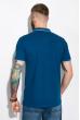 Классическое поло 104P050 синий