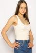 Боди женское с косточками 629F001 молочный