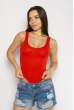 Боди женское с косточками 629F001 красный