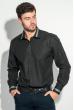 Рубашка мужская воротник с контрастной полосой 50PD0100 черный