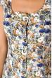 Блуза женская 118P021 молочно-синий