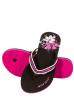 Вьетнамки женские 160P004 черно-розовый