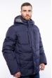 Куртка мужская однотонная 157P131217 темно-синий
