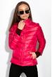 Куртка женская,двусторонняя 85P17769 малина-беж