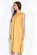 Летнее платье  103P491 горчичный
