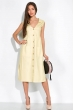 Летнее платье  103P491 светло-желтый