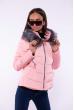 Куртка женская 184P005 розовый
