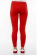 Брюки женские спортивные с лампасами 611F003 красно-белый
