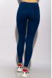 Брюки женские спортивные с лампасами 611F003 сине-белый