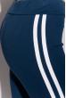 Брюки женские спортивные с лампасами 611F003 сизо-белый