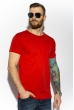 Футболка мужская однотонная 85F380 красный