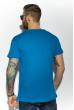 Футболка мужская однотонная 85F380 голубой