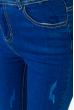 Джинсы женские 105P1012-2 светло-синий