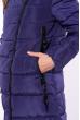 Куртка женская с косой молнией 120PSKL8018 мятный
