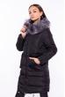 Куртка женская с карманом на спине 120PSKL710 черный