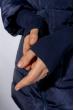 Куртка женская с укорочеными рукавами 120PSKL907 темно-синий
