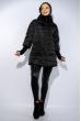 Куртка женская с укорочеными рукавами 120PSKL907 черный