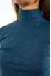 Гольф женский однотонный 620F001 темно-бирюзовый