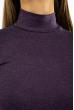 Гольф женский однотонный 620F001 темно-фиолетовый